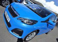 65 Reg Peugeot 108 1.0 Active With Tiny Mileage. Zero Road Tax