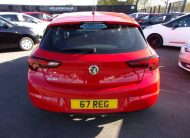 67 Reg Vauxhall Astra 1.4 100 BHP. Huge Saving Against New Price Of £19,225