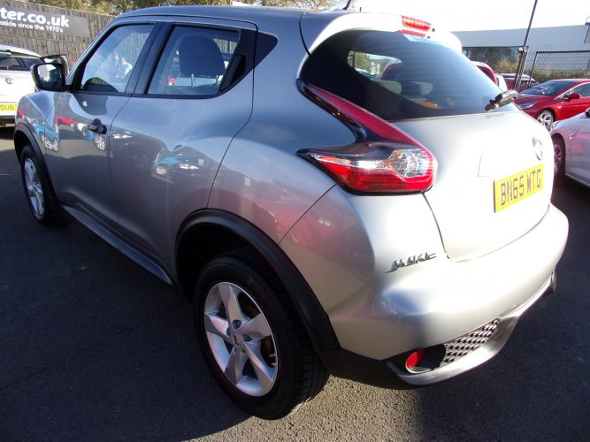 65 Reg Nissan Juke 1.6 SUV With Very Low Mileage