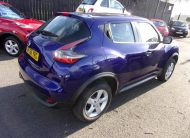 2017 Nissan Juke 1.6 SUV With Very Low Mileage.