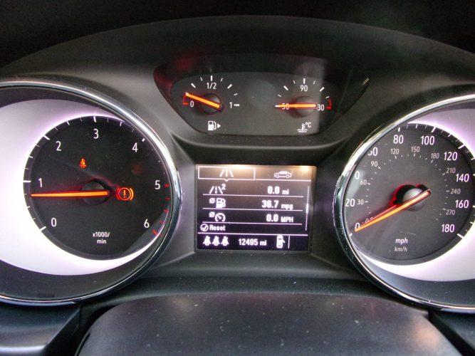 67 Reg Vauxhall Astra 1.6 CDTi Turbo Diesel.