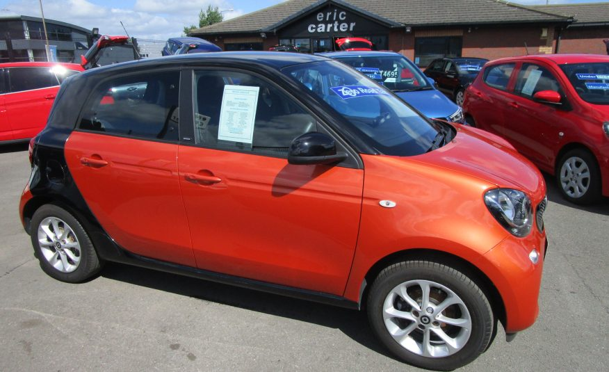 Smart Forfour 1.0 Passion 5 Door 16 Reg
