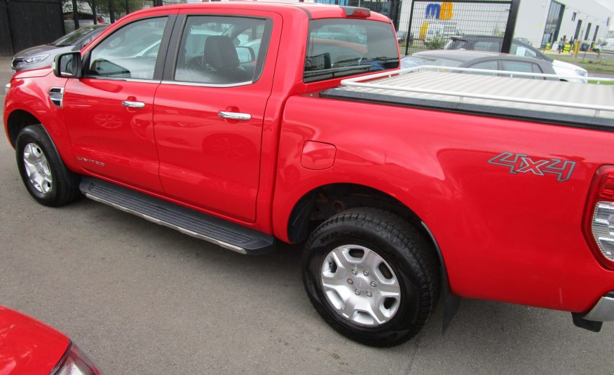 Ford Ranger 2.2 TDCi Limited 4 Wheel Drive Double Cab