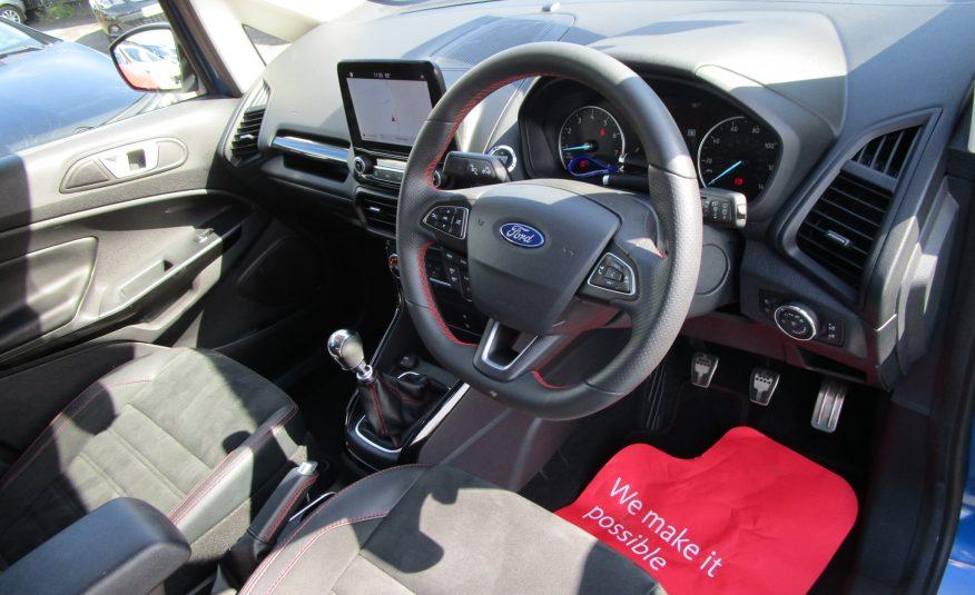 Ford Ecosport ST-Line 1.0 Turbo Ecoboost SUV 69 Reg