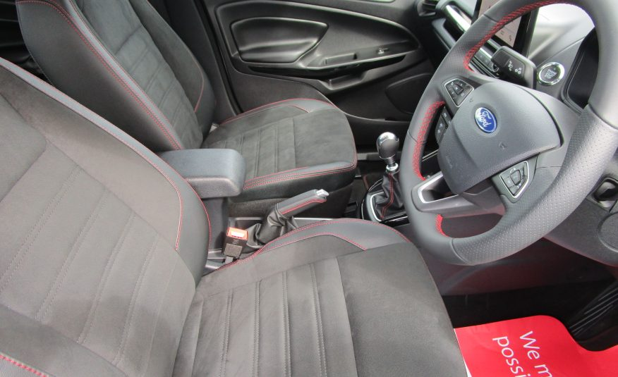Ford Ecosport 1.0 ST-Line Turbo Ecoboost SUV 69 Reg