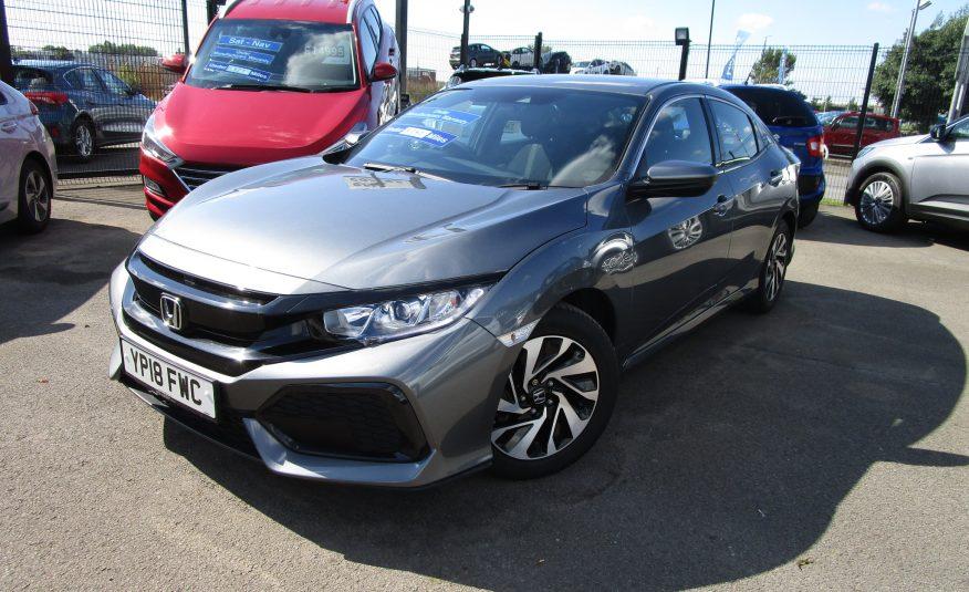 Honda Civic V-Tec SE Turbo 18 Reg