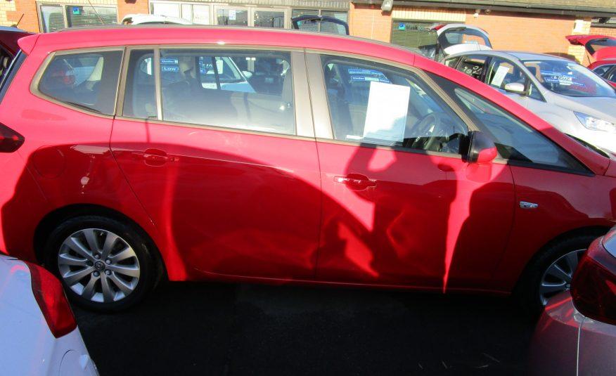 Vauxhall Zafira 1.4 Turbo Design Tourer 7 Seater 17 Reg