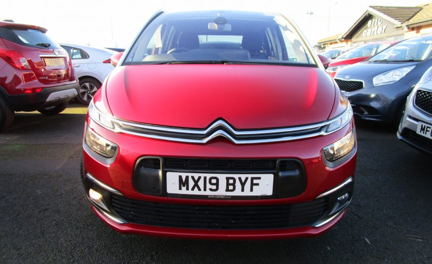 Citroen Grand Spacetourer Turbo 130 BHP 7 Seater 19 Reg