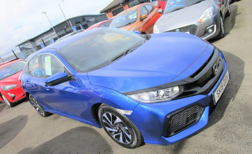 Honda Civic V-Tec SE Turbo 19 Reg