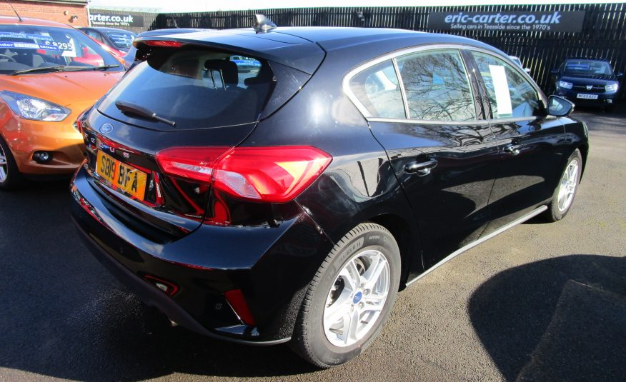 Ford Focus Ecoboost Turbo Zetec Navigation 19 Reg