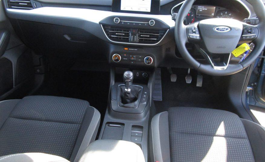 Ford Focus 1.0 Turbo Ecoboost Zetec 5 Door 68 Reg