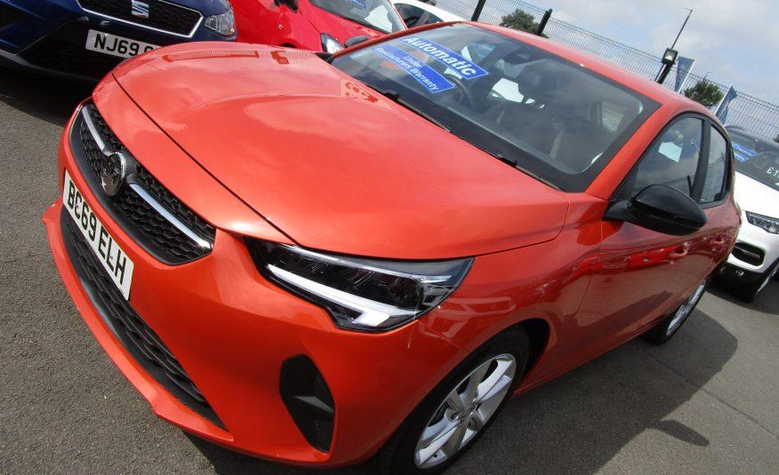 Vauxhall New Corsa SE Nav Premium Turbo Automatic 2020